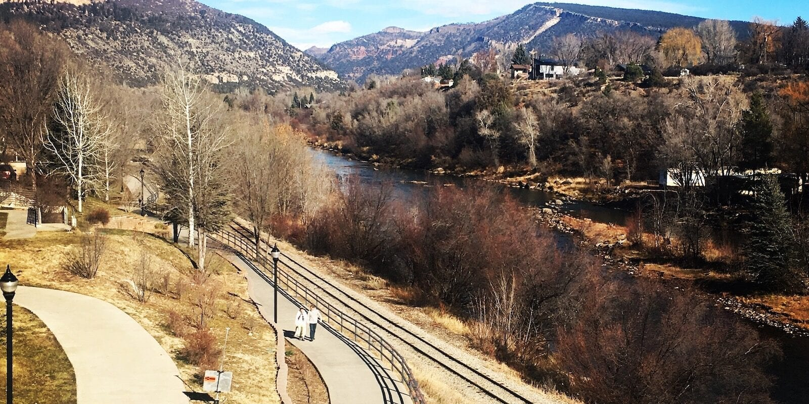Retire In Colorado Durango Animas River View From Public Library