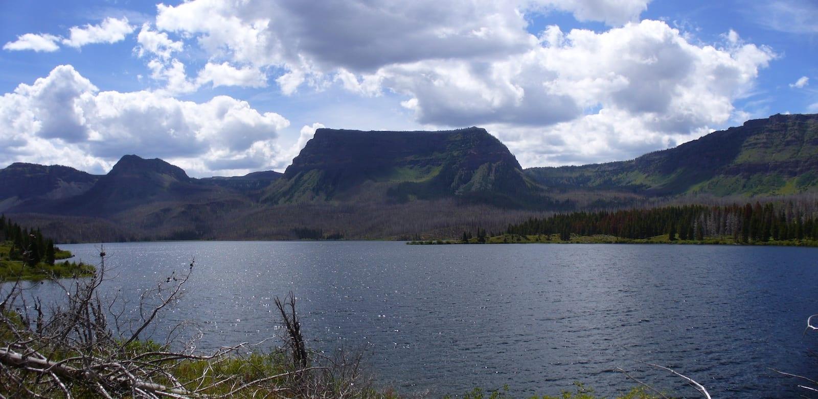 Trappers Lake Colorado Panorama
