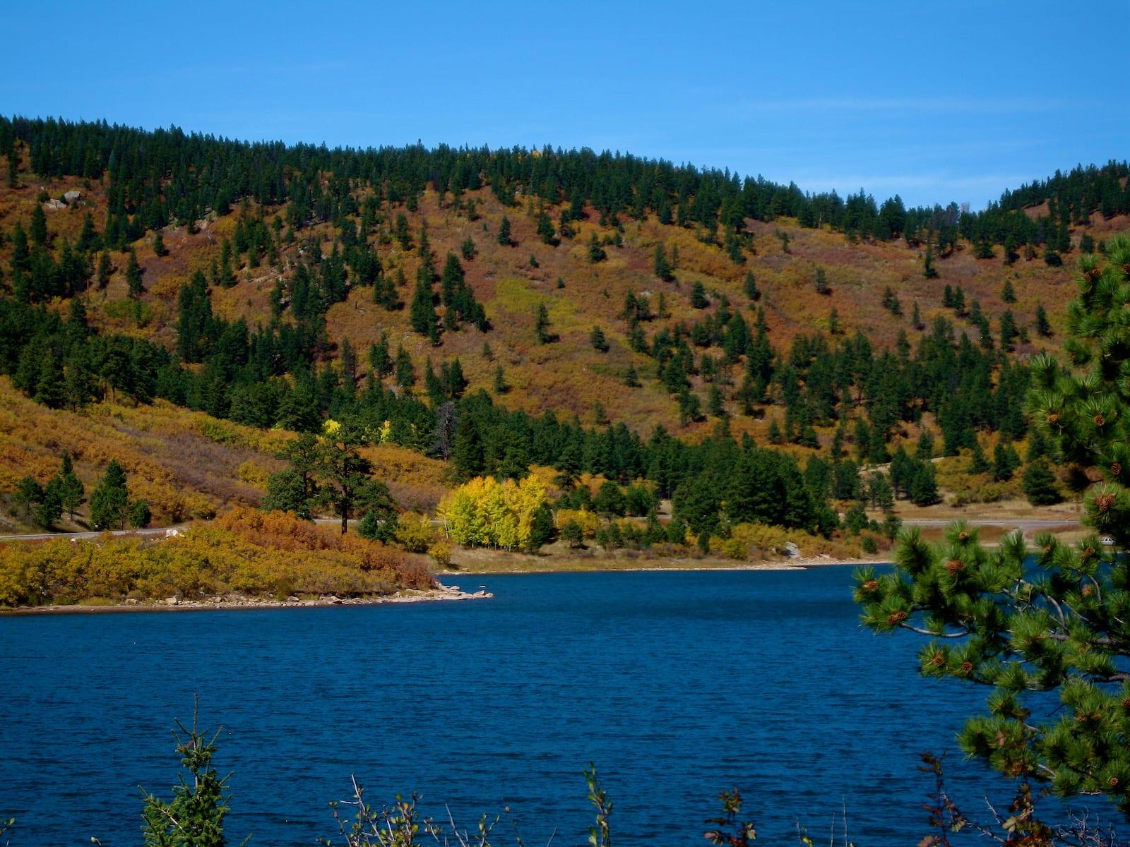 Trinidad Lake Colorado Fall Colors