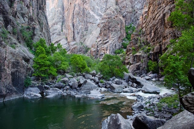 image of the gunnison river