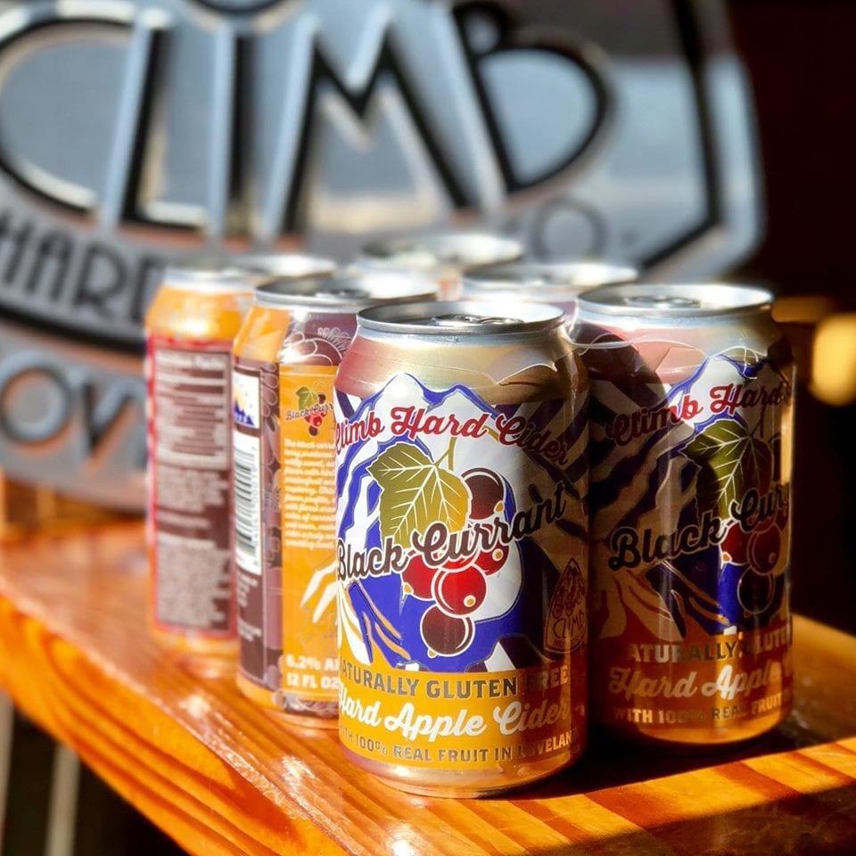image of Climb hard cider in cans
