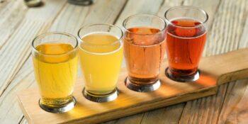 image of glasses of cider