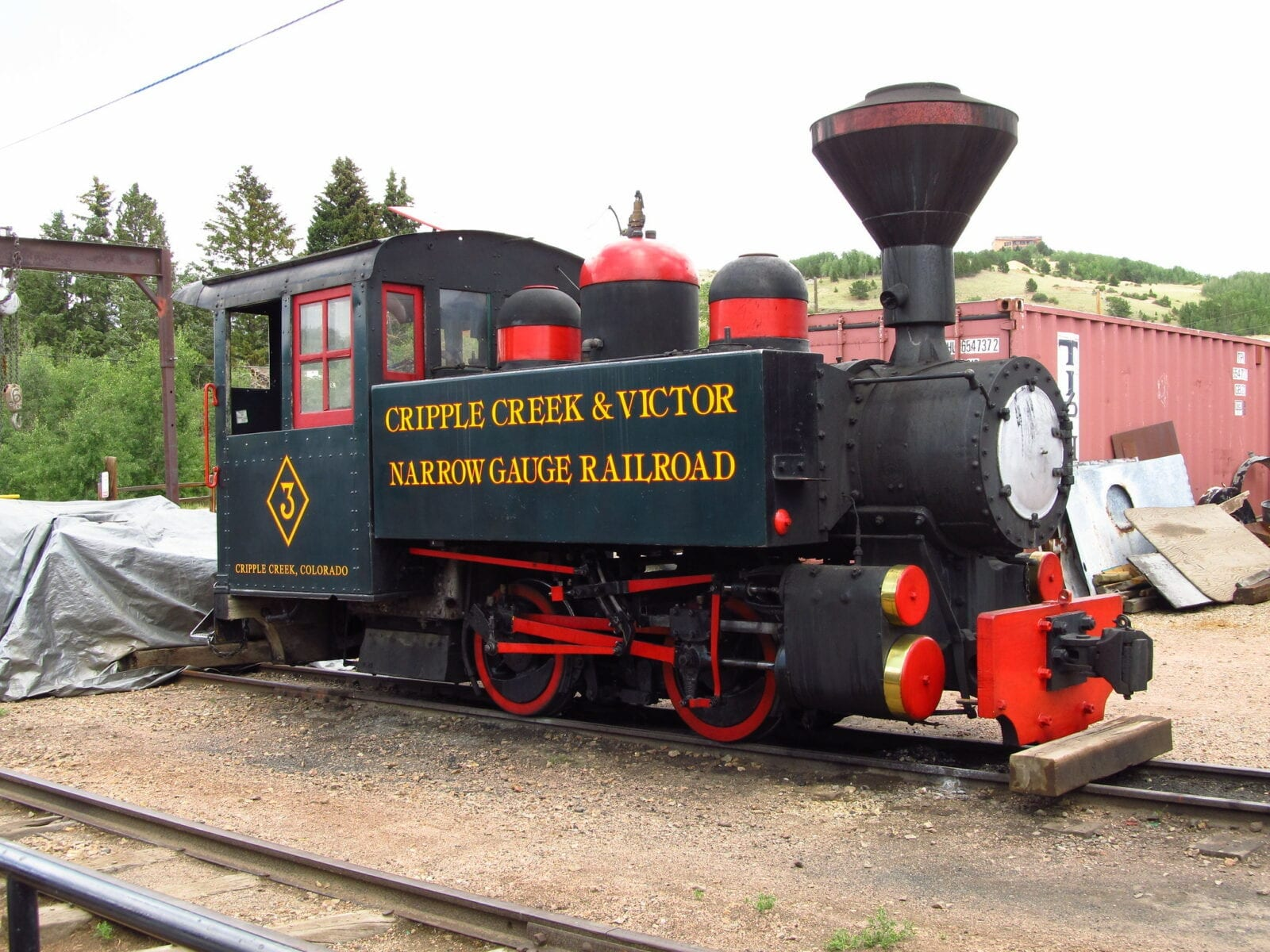 image of cripple creek train