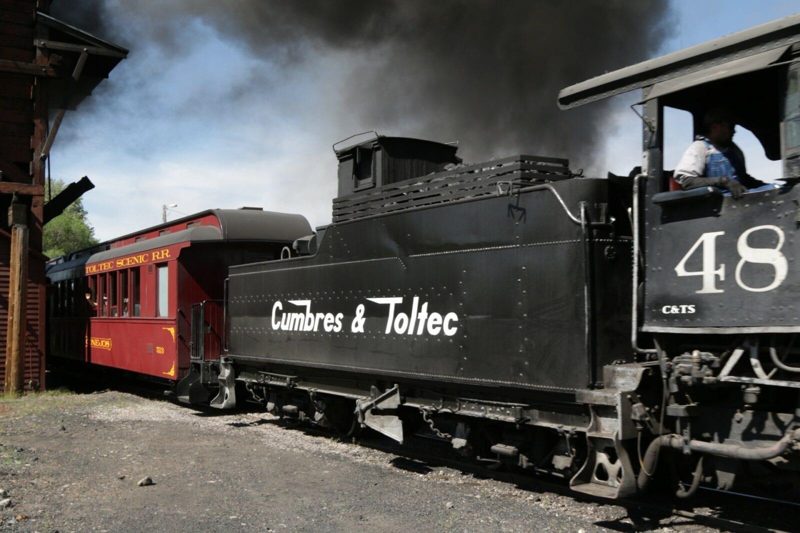 image of cumbres and toltec railway