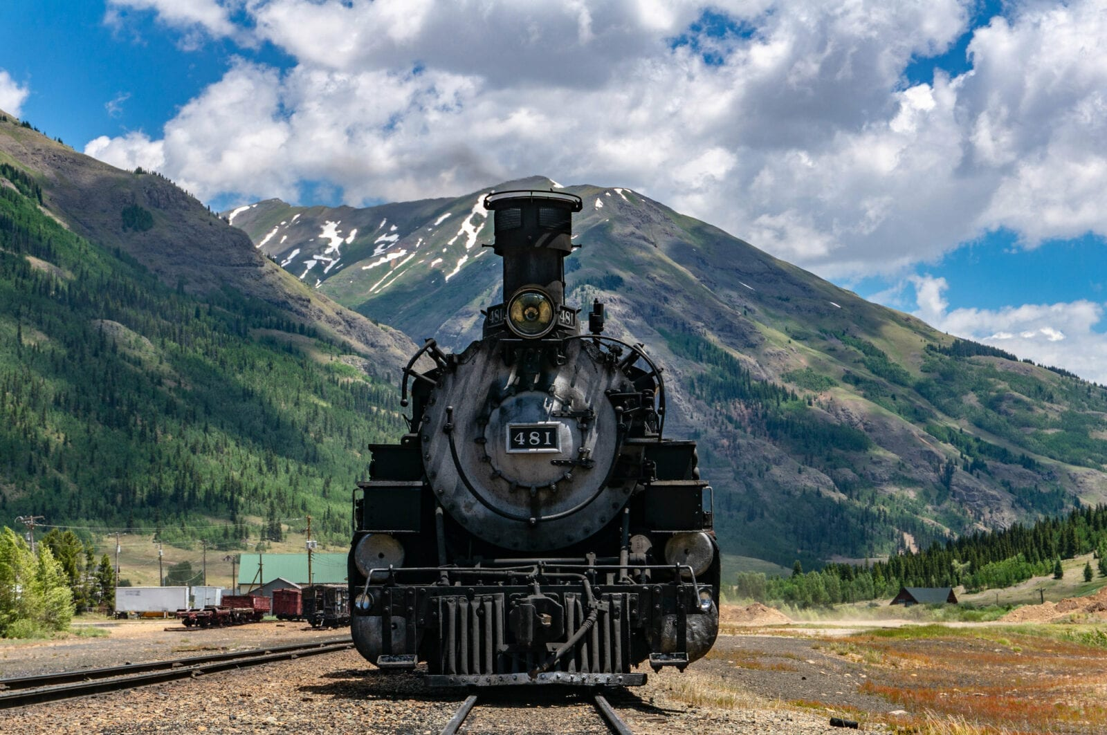 image of the Durango and Silverton train
