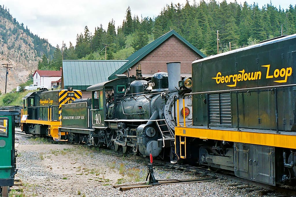image of georgetown loop railroad