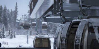 image of gondola at breckenridge ski resort