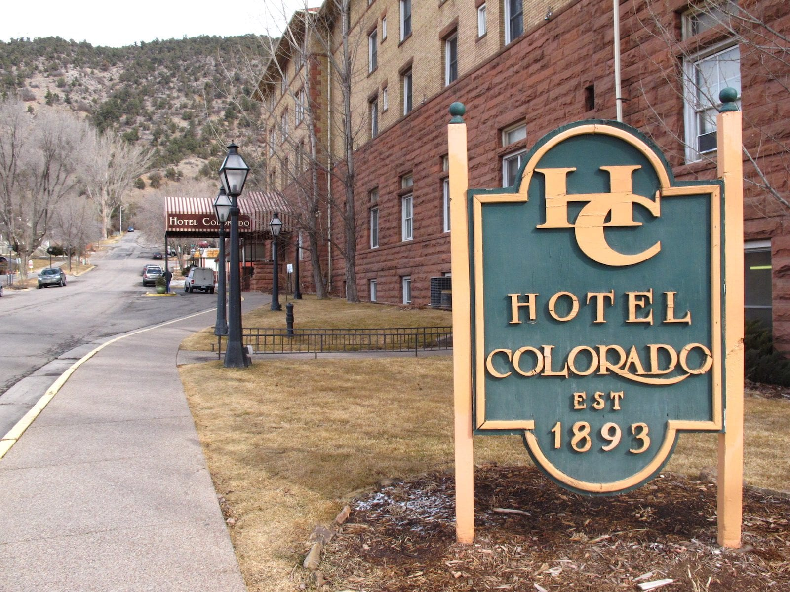 Hotel Colorado in Glenwood Springs, Colorado