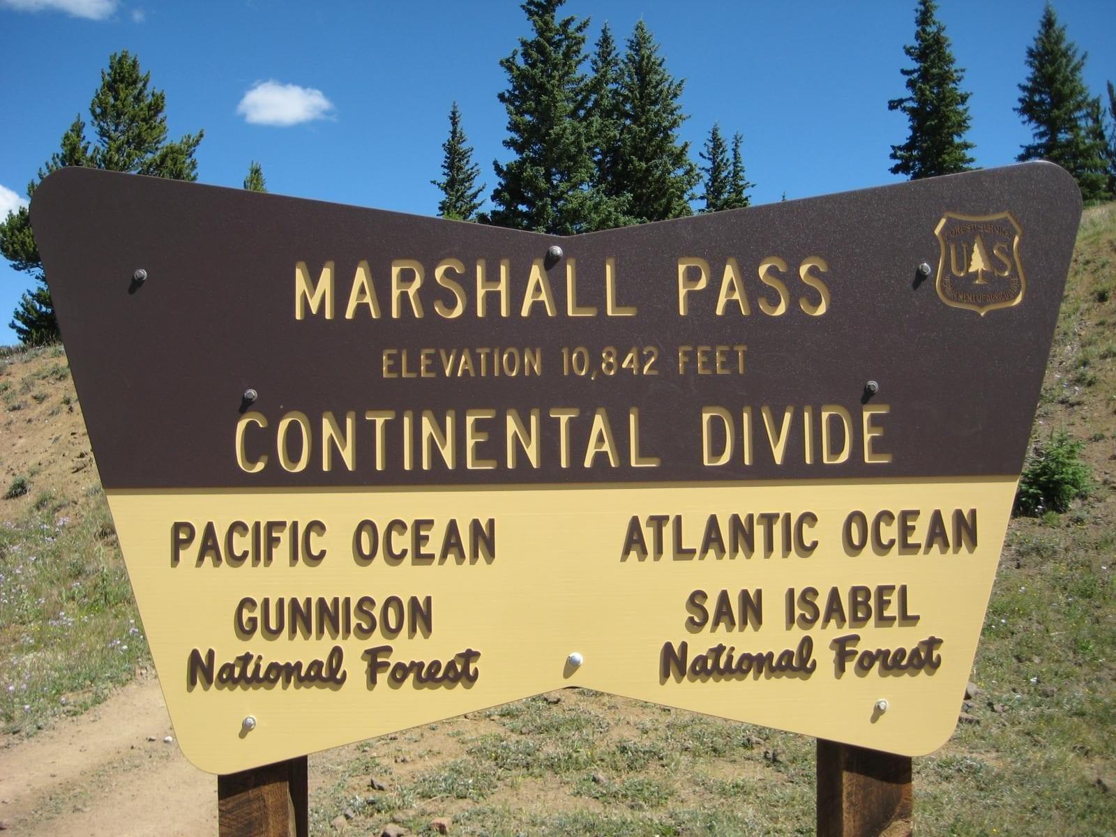 image of marshall pass