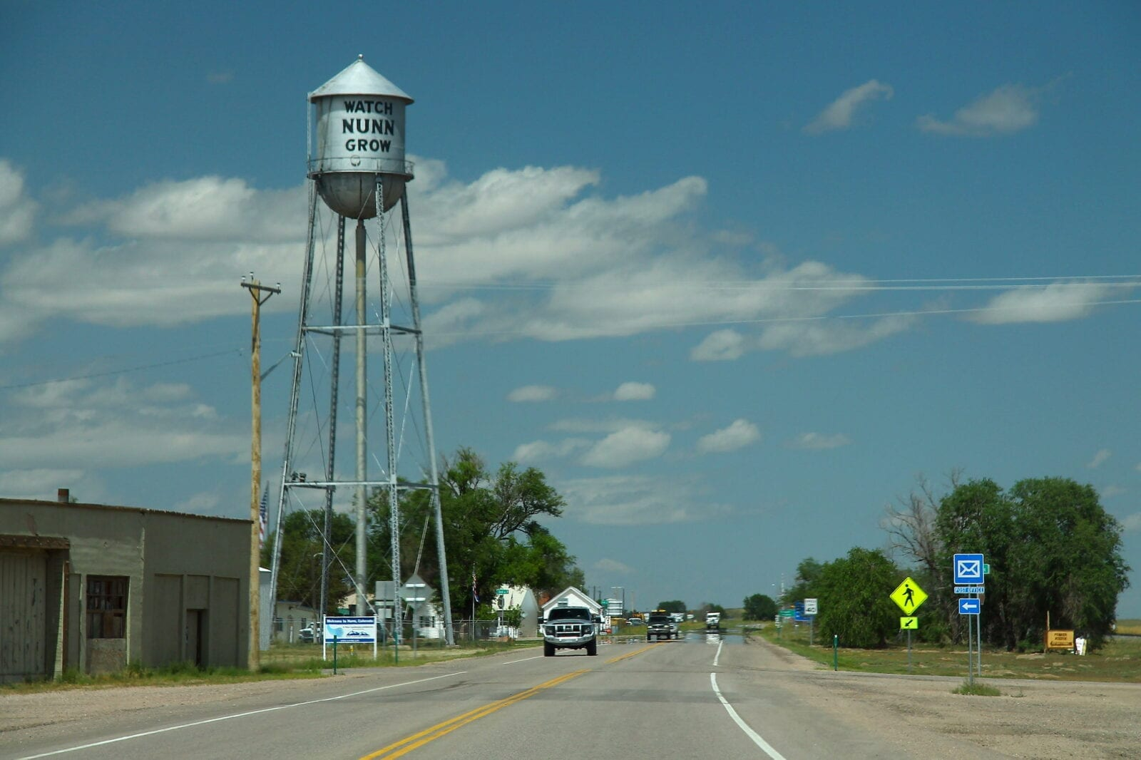 image of nunn water tower