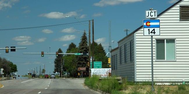 image of highway in Colorado