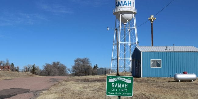 image of the town of Ramah
