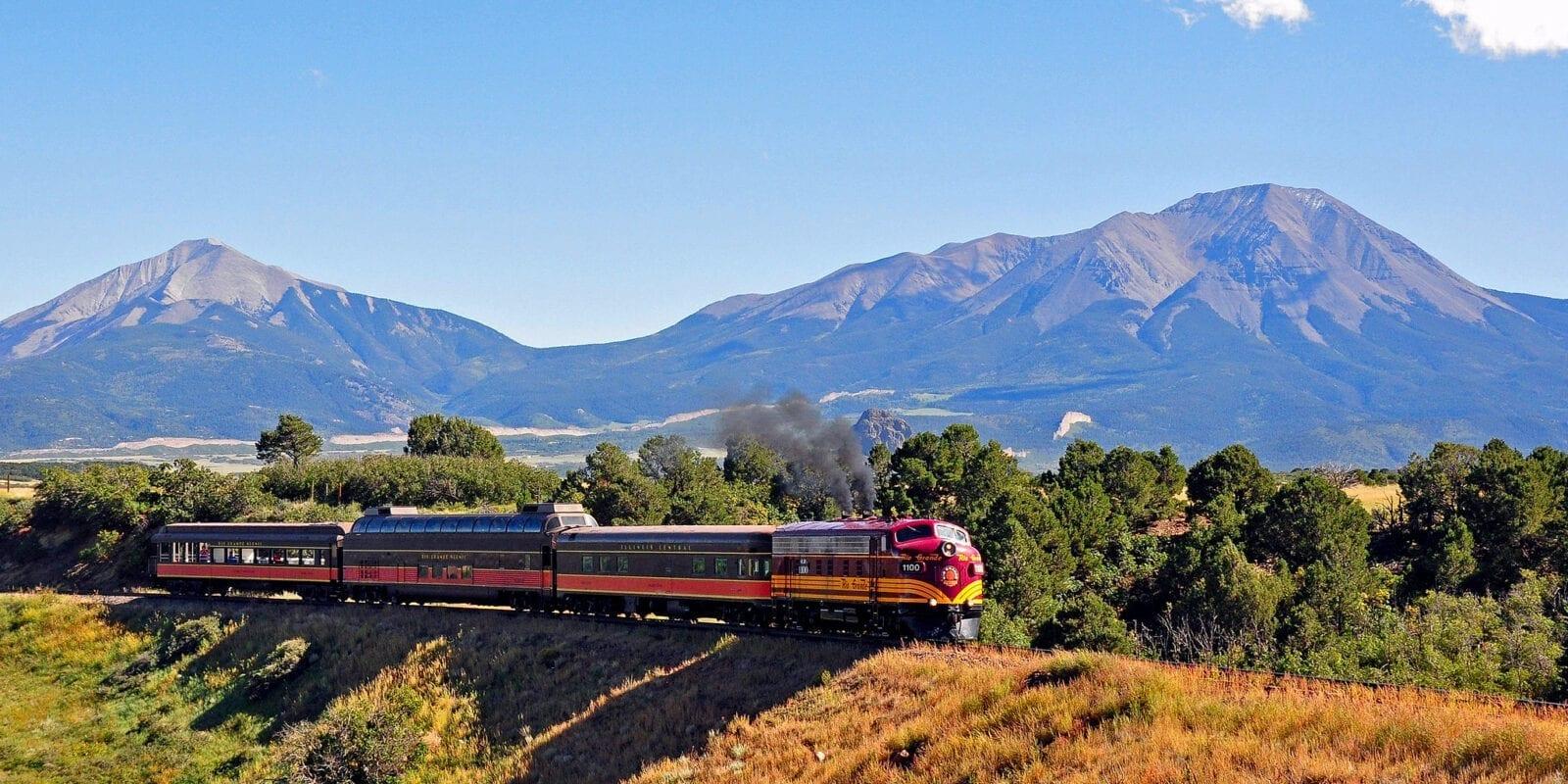 image of Rio Grande scenic railroad