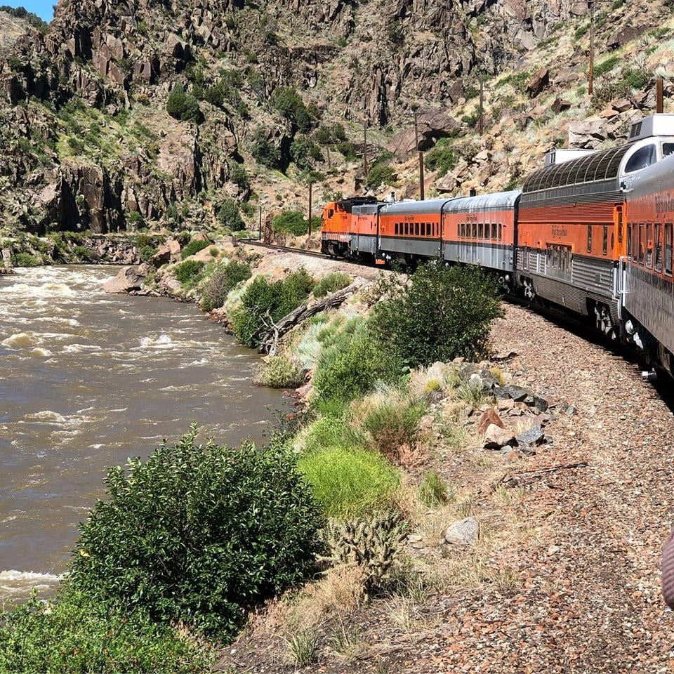 image of royal gorge railroad