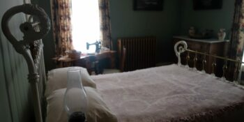 Haunted Places in Colorado Molly Brown House Room