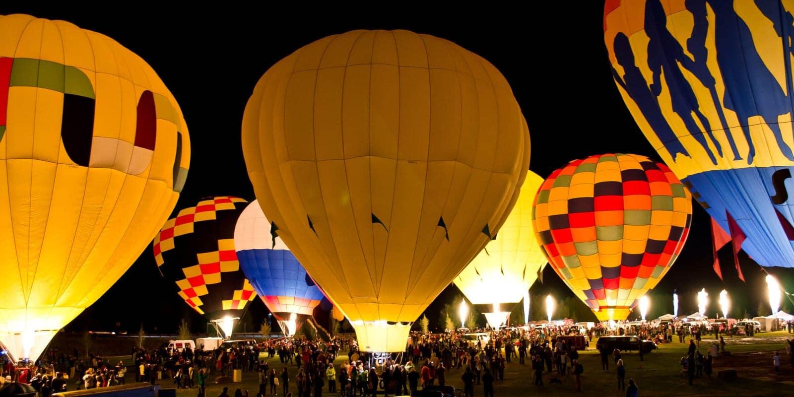 Snowmass Hot Air Balloon Festival, CO