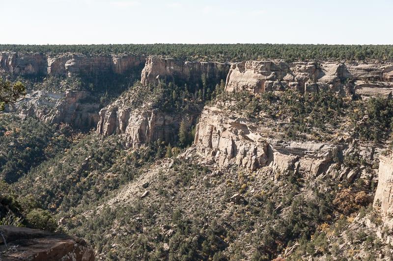 Soda Canyon overlook trail, Colorado