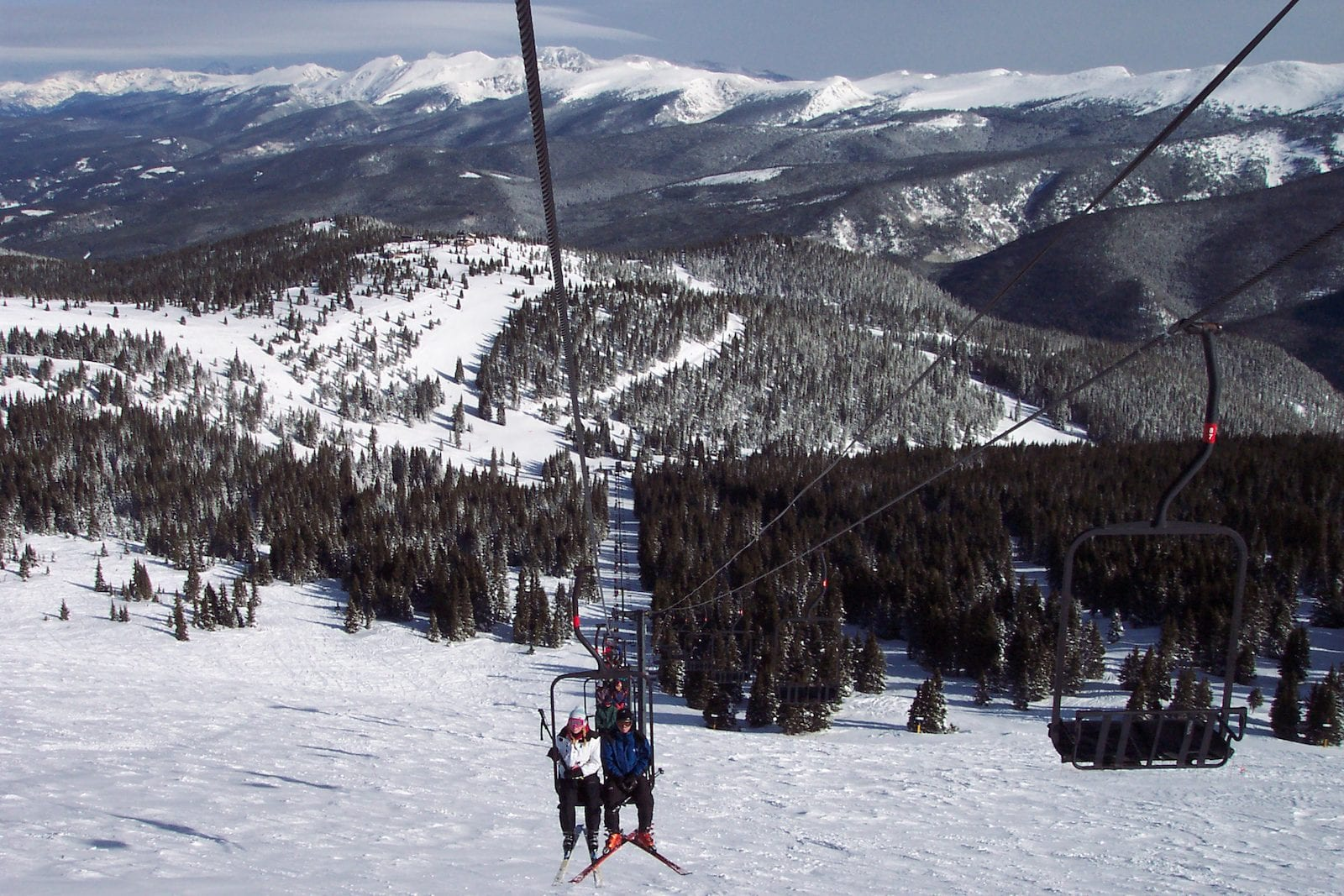Top of Winter Park, Colorado