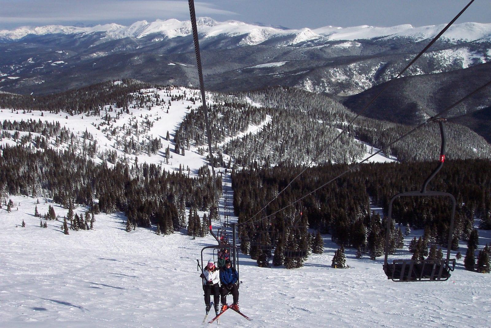 Top of Winter Park, Colorado