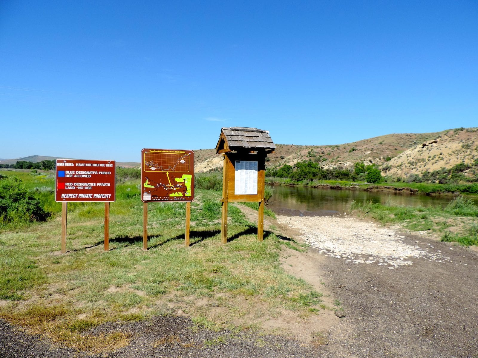 Yampa River State Park Public Access South Beach Craig Colorado
