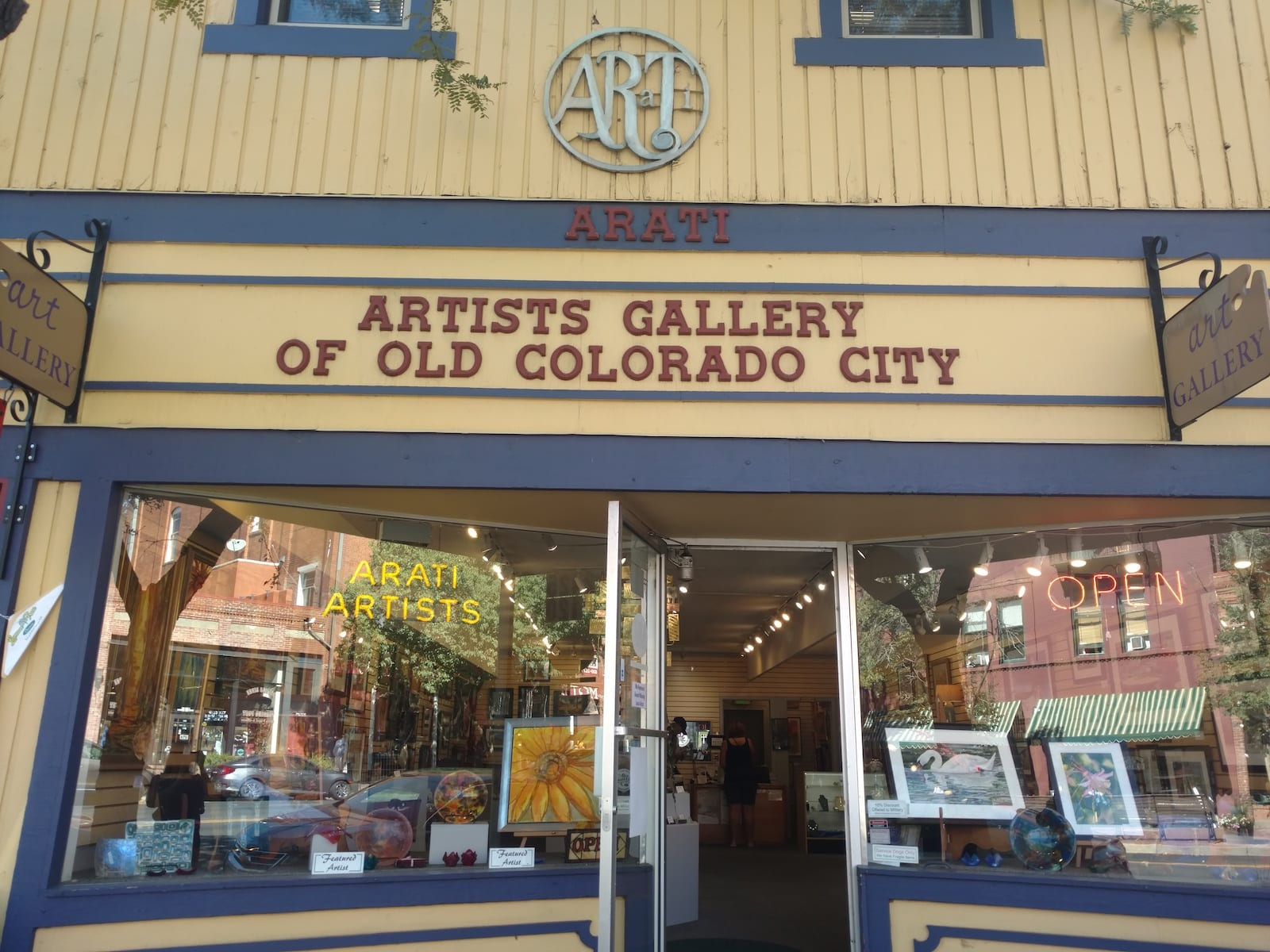 Artist Gallery of Old Colorado City ARATI Colorado Springs