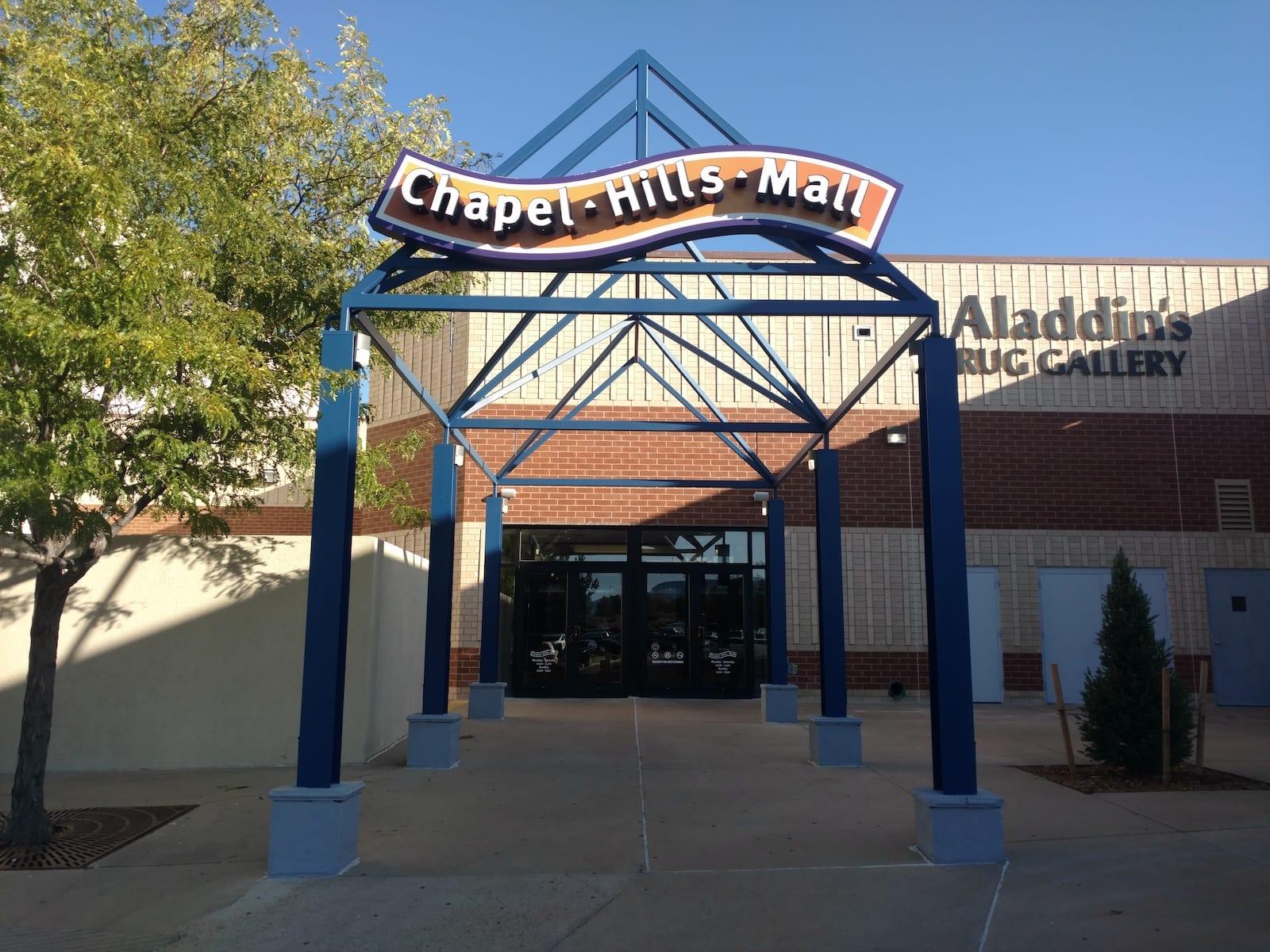 Chapel Hills Mall Colorado Springs Entrance