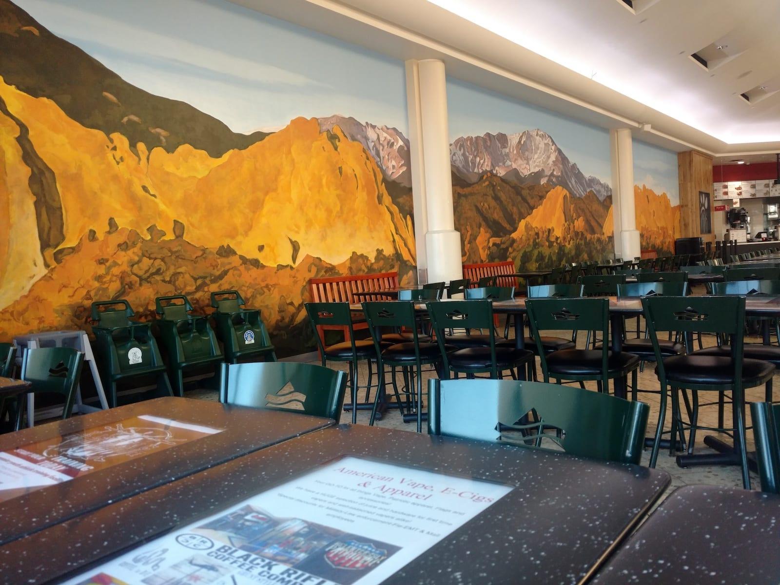 Chapel Hills Mall Colorado Springs Interior