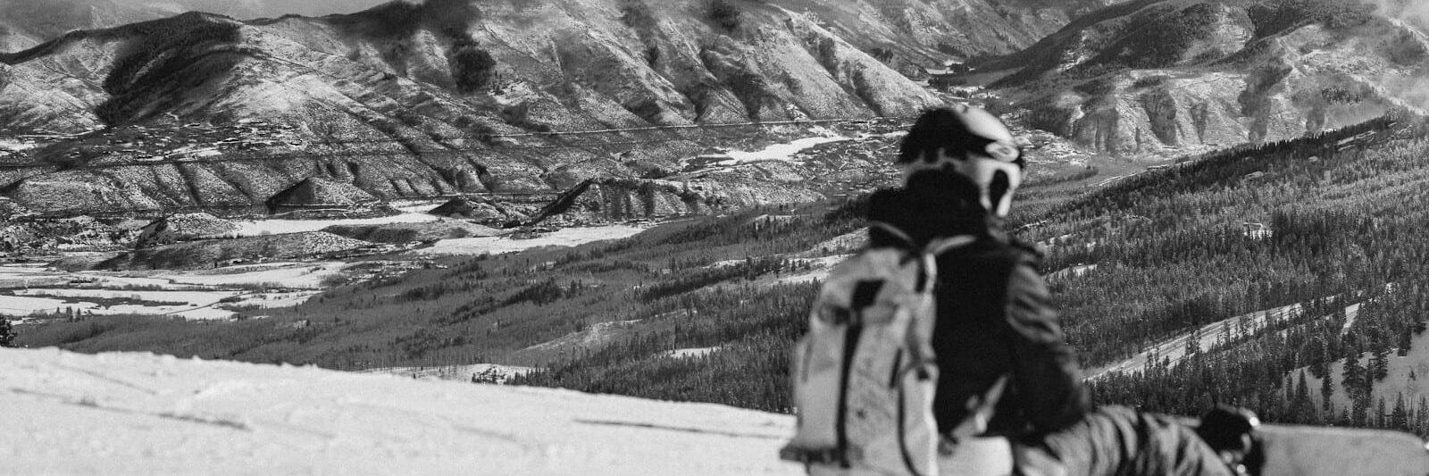 Colorado Ski Resort Snowmass Mountain Introspective