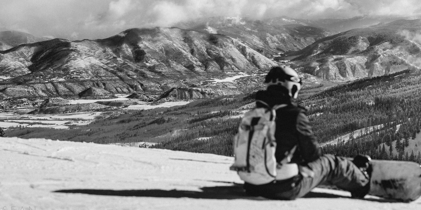 Colorado Ski Resort Snowmass Mountain Introspective
