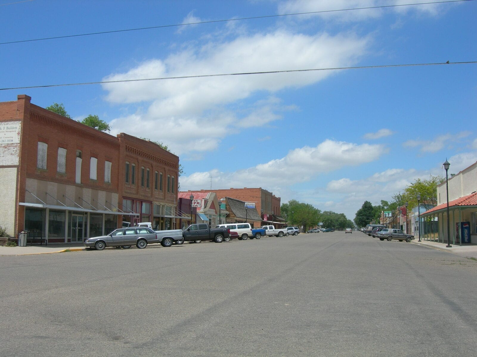 image of downtown Ordway