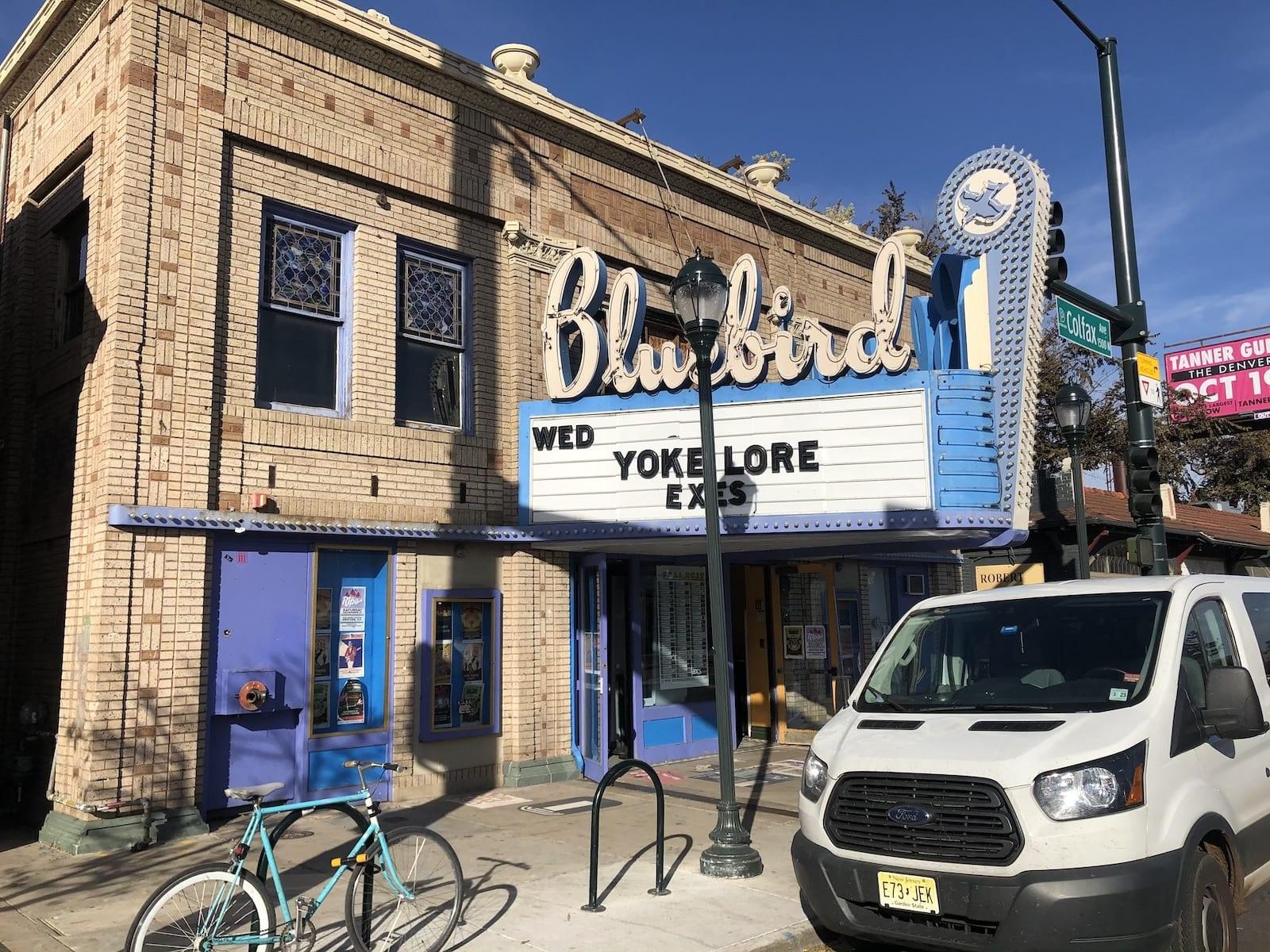 East Colfax Avenue Bluebird Theater
