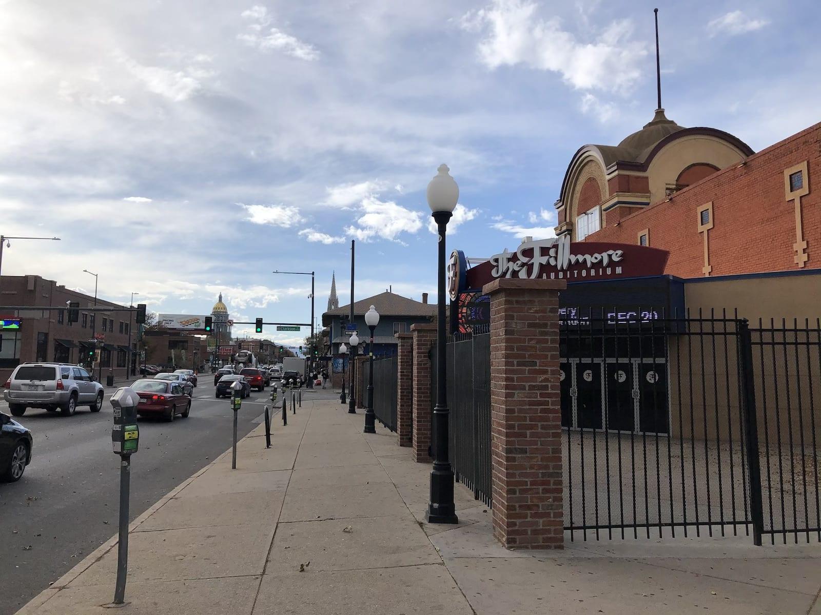 The Fillmore Auditorium Denver CO