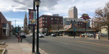 East Colfax Denver Colorado Tom's Diner