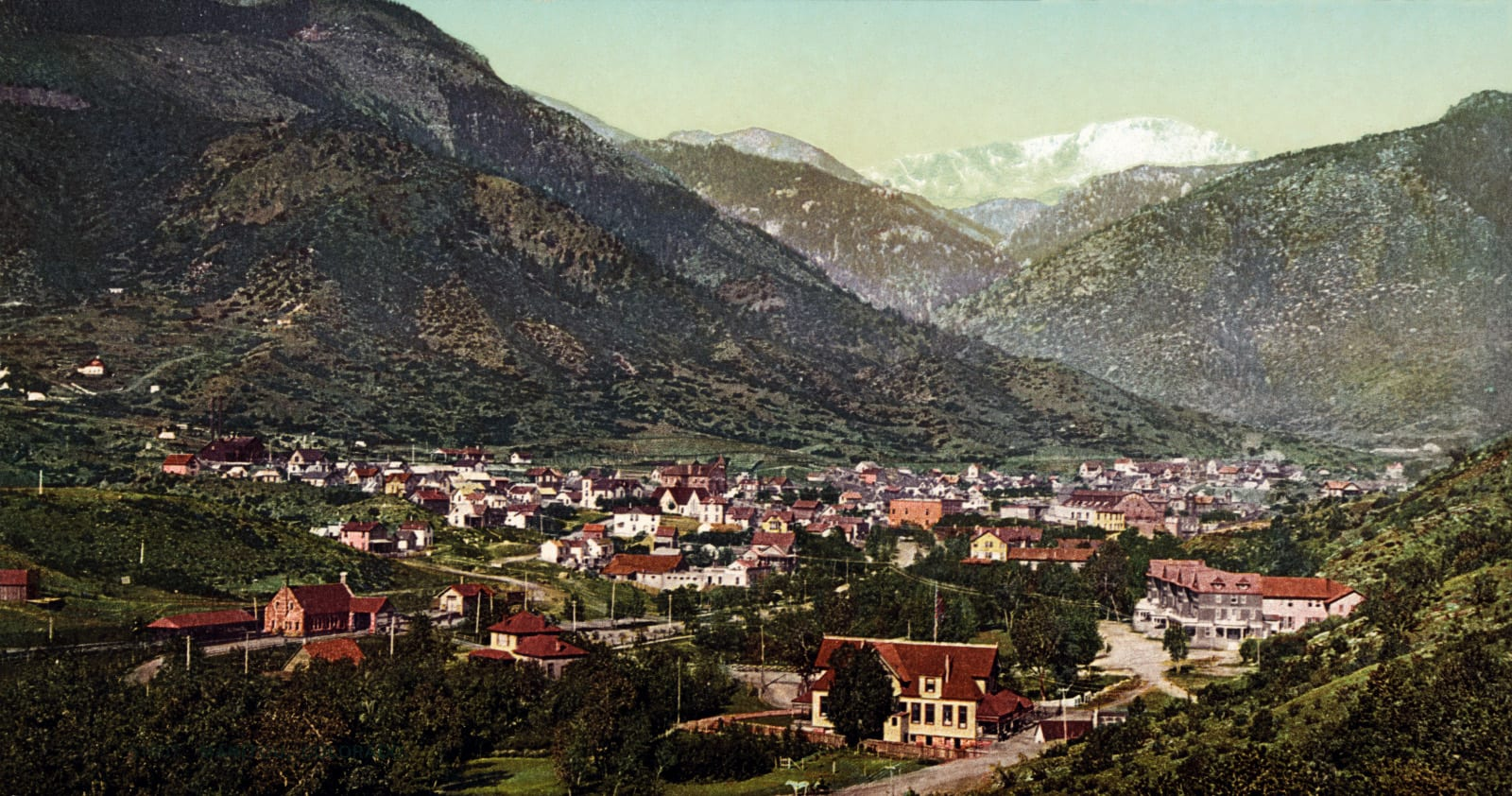 Manitou Springs Colorado Circa 1902