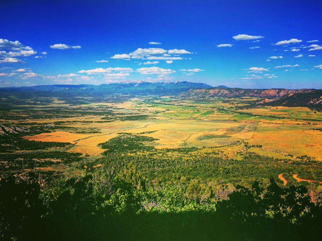 Mancos Valley Hike Mesa Verde Colorado