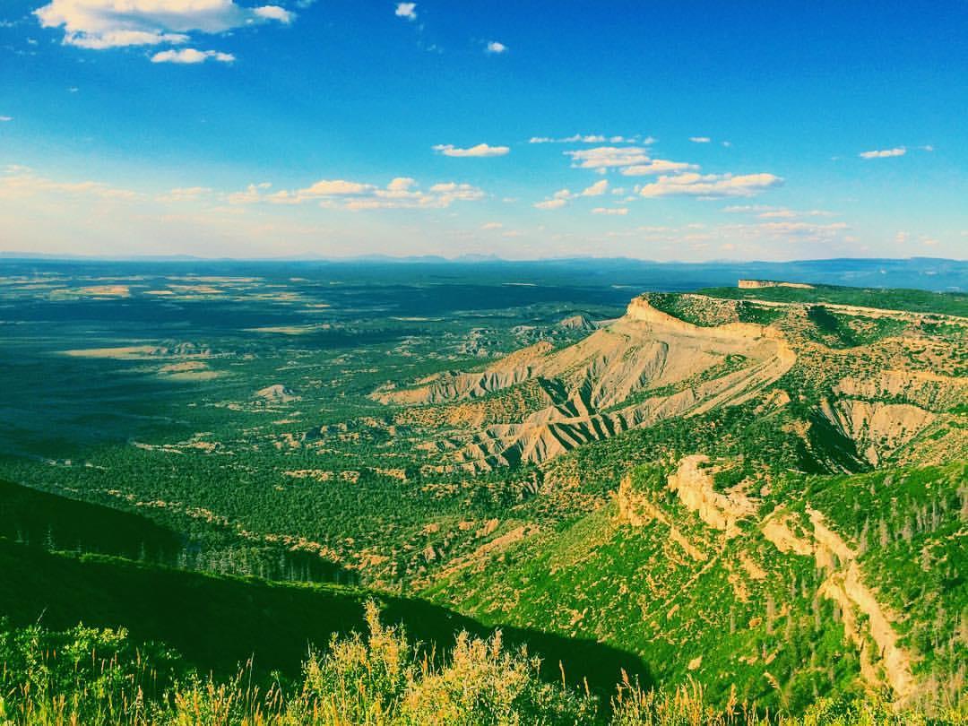 Montezuma Valley Hike Mesa Verde Colorado