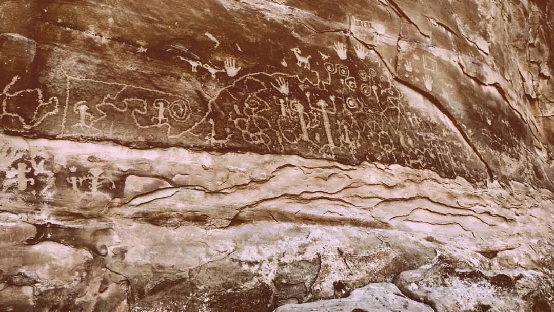 Petroglyph Point Hike Mesa Verde Colorado