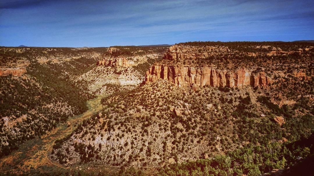 Soda Canyon Hike Mesa Verde Colorado