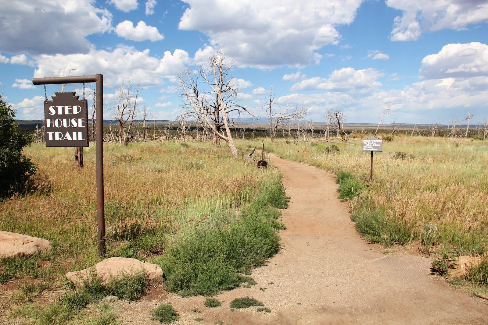 Step House Mesa Verde National Park Trailhead Colorado