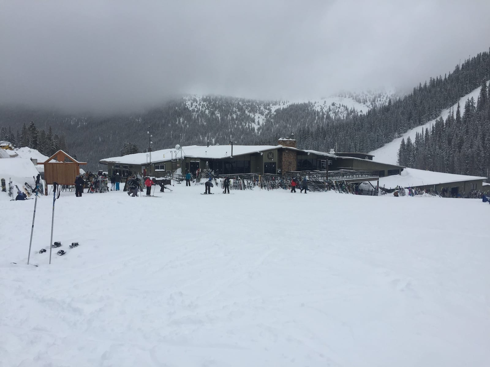 Monarch Mountain Ski Resort Base Lodge