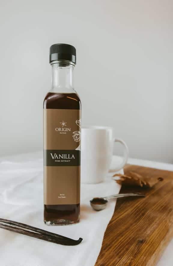 Origin Vanilla Full Extract Bottle