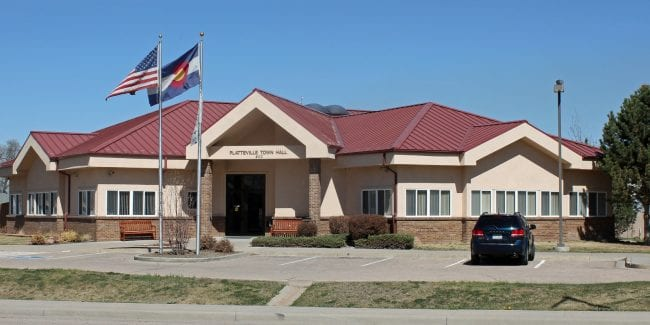 Platteville CO Town Hall