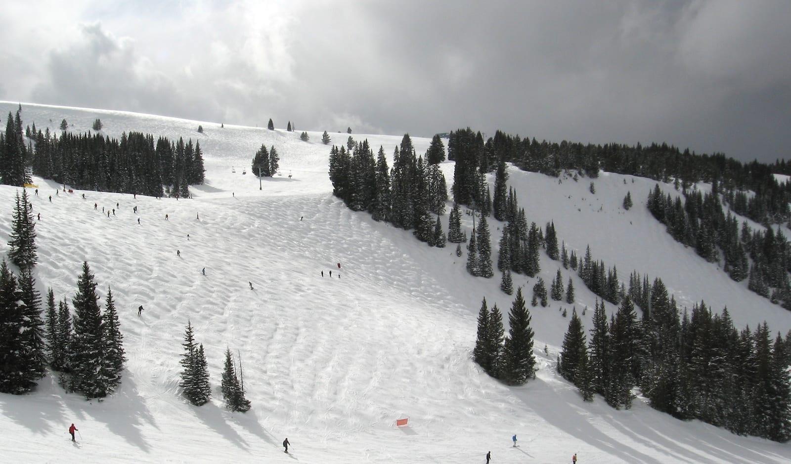 Vail Ski Resorts Back Bowls Look Ma