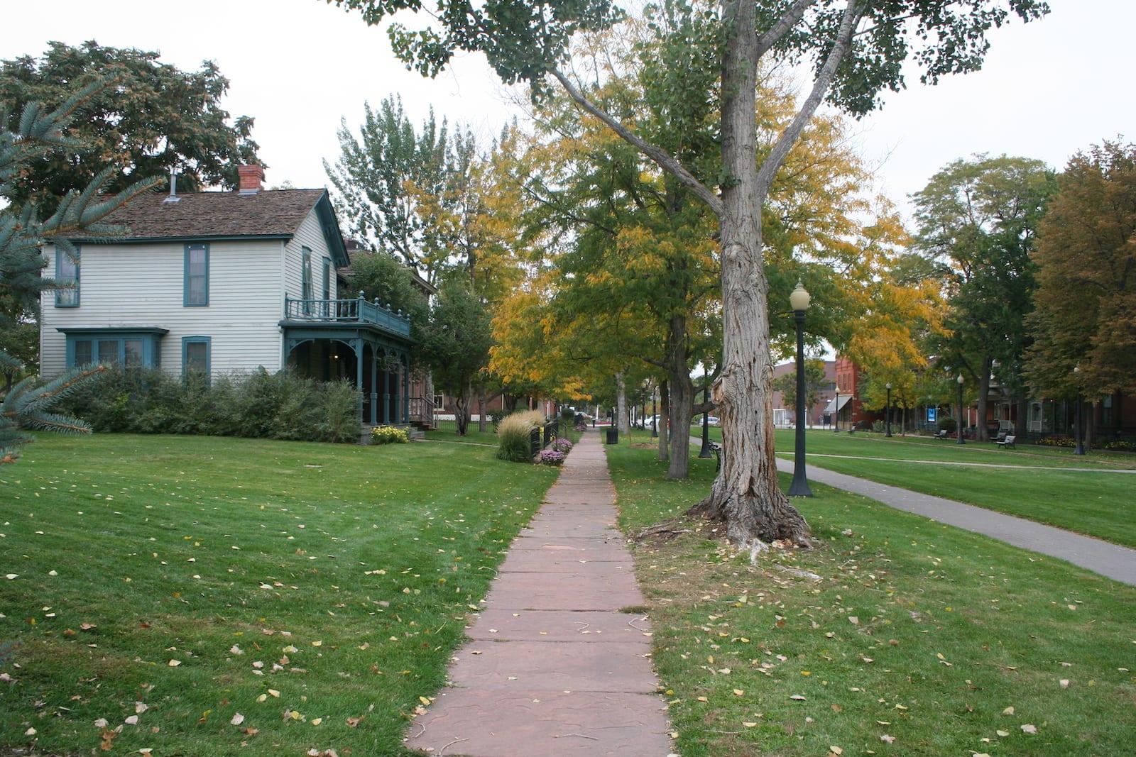 West Colfax Denver Auraria Nine Street Historic Park