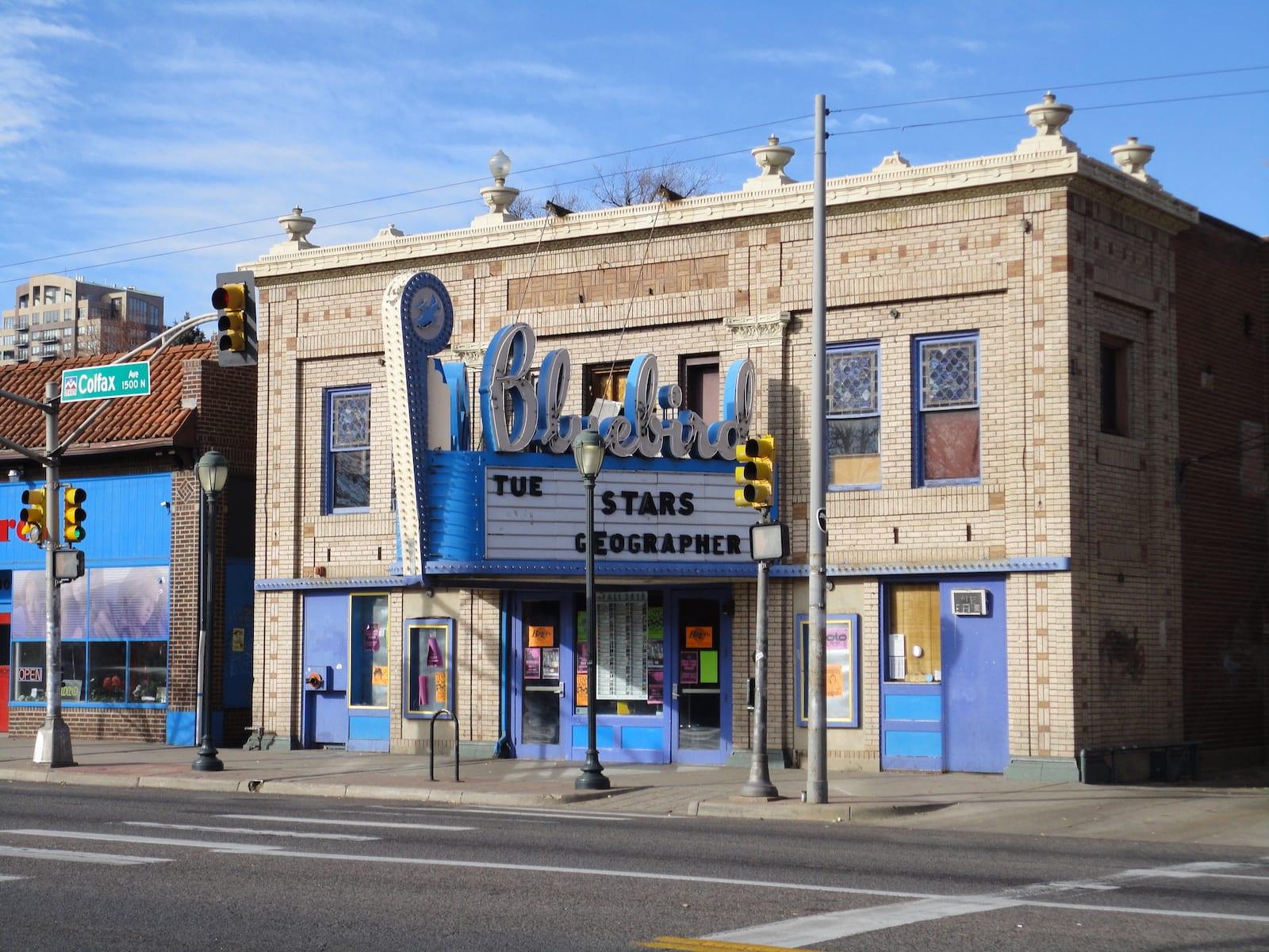 Bluebird Theater, Denver
