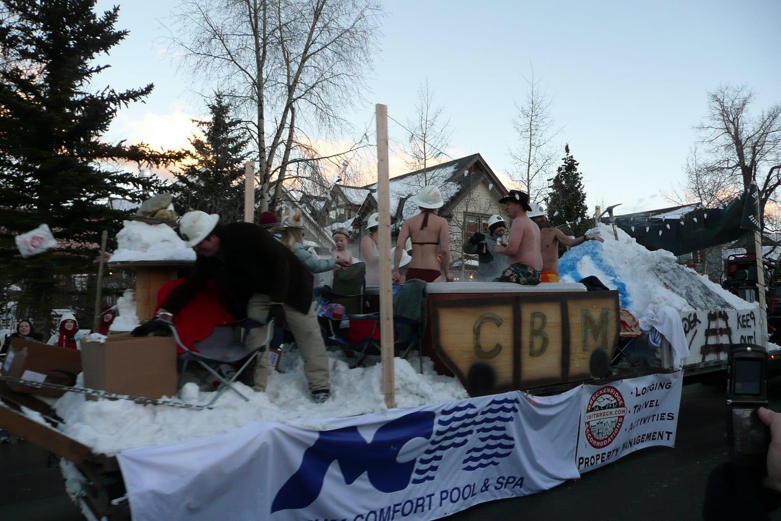 image of breckenridge ullr festival