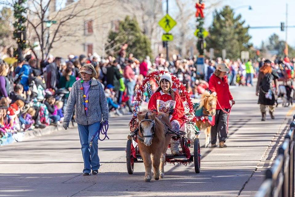 image of christmas carriage parade