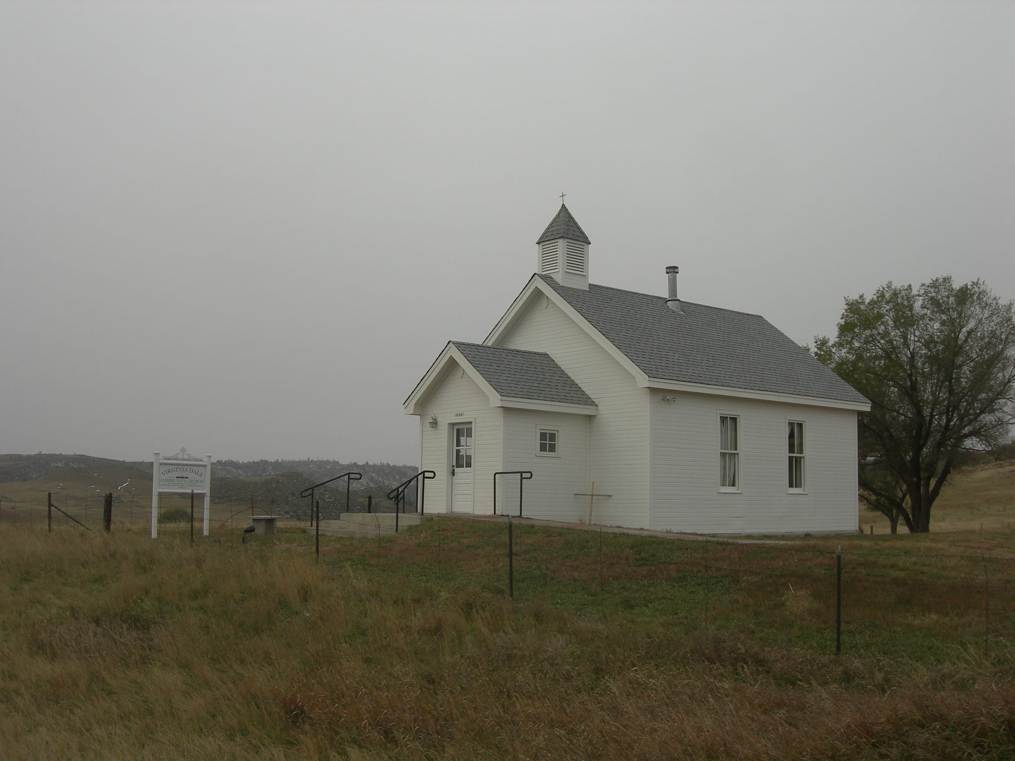 image of church in Virginia Dale