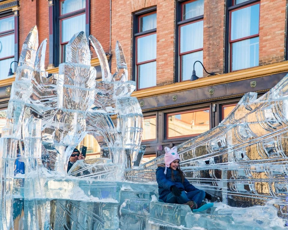 image of Cripple Creek ice festival