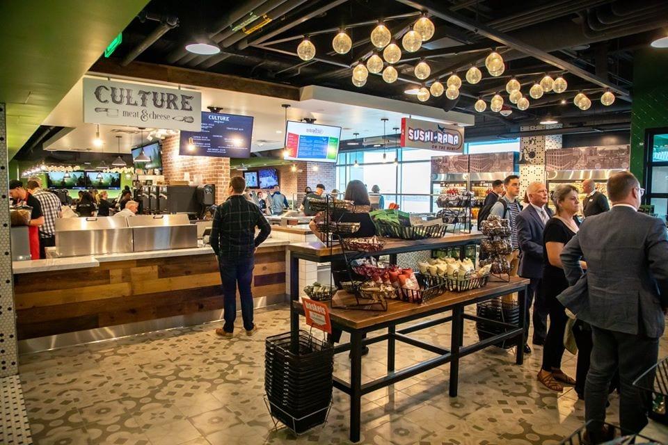 image of denver market at DIA